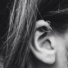 there's a love heart in my ear