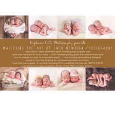 Twin Newborn Poses.  Twin Newborn Photography.  Twin Newborn Photographer.   https://www.facebook.com/stephaniecottaphotography