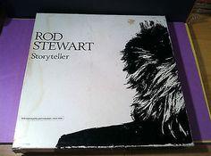ROD STEWART - story teller - 4 CASSETTE COLLECTION - rock