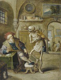 ゝ。:-1625-: Der Geigende Tod Frans Francken II.。