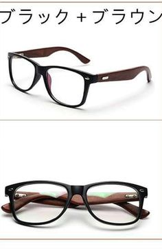 メガネフレーム ウッド ブラックメンズ眼鏡高品質。 メンズ向け、木の質感が濃厚の...