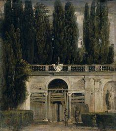 Jardín de Villa Medicis, Diego Velazquez