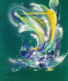 凤凰  phoenix 100cm X120cm 布面油画 Oil on Linen.