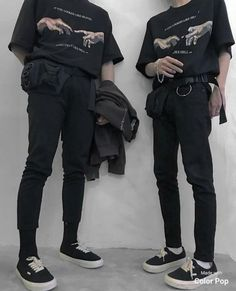 Streetwear Mode, Streetwear Fashion, Street Style Vans, Street Styles, Grunge Outfits, Grunge Fashion, Men Chic, Korean Fashion, Mens Fashion