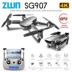 GPS Drone with Wifi FPV HD Dual Camera Quadcopter The GPS returns to the takeoff point with one button, and the low GPS Drone with Wifi FPV HD Dual Camera Quadcopter Drones, Rc Drone, Wifi, Shooting Video, Videos Photos, 4 Channel, Rc Helicopter