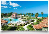 Sandals Grande Riviera in Ocho Rios, Jamaica.  Was a wonderful honeymoon spot!