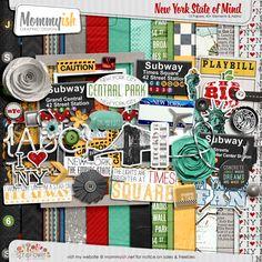 New York State of Mind - Mommyish #scrapbook #digiscrap