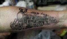 Train tattoo