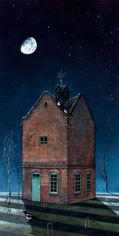 Hypnagogue 3 (The House with Nothing at Home)     Richard Moult