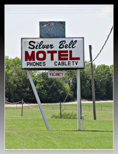 Silver Bell Motel -    Longton, Kansas.