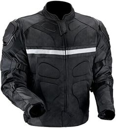Viking Cycle Men's Stealth Motorcycle Jacket
