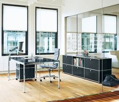 executive office on pinterest fritz hansen storage. Black Bedroom Furniture Sets. Home Design Ideas