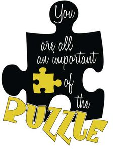 Motivating = I am an important piece of the puzzle