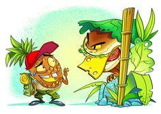 Jungle Food by Freek van Haagen
