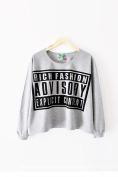 Casual O Neck Three Quarter Letter Gray Cotton T-shirt picture 1