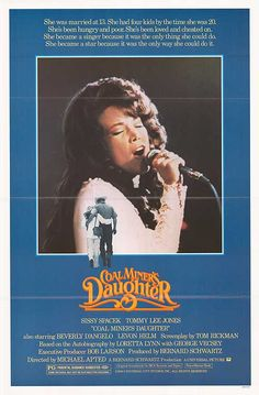 """There's something about this movie that I love maybe because I can relate to her. Very inspirational I hope I have my """"Loretta Lynn"""" discovery one day. <3"""