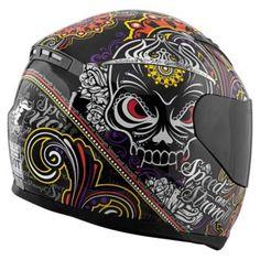 Speed and Strength Women's Killer Queen Helmet Biker Helmets, Full Face Motorcycle Helmets, Custom Motorcycle Helmets, Custom Helmets, Motorcycle Outfit, Motorcycle Babe, Custom Motorcycles, Custom Bikes, Biker Accessories