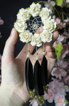 Car Mirror Dream Catcher Auto Accessories For Women Rear View Mirror SUV Interior Black - Cars Accessories - Ideas of Cars Accessories - Get great recommendations on most reliable suv. They are actually on call for you on our internet site. Car Accessories For Women, Diy Accessories, Car Mirror, Rear View Mirror, Dream Catcher For Car, Craft Font, Classy Cars, Deco Floral, Hipster Decor