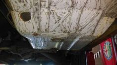 Bodem restauratie Alfa Romeo 75