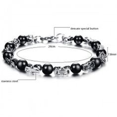 Fashion Black Bead Men Titanium Steel Bracelet Jewel (Auction ID: 673, End Time : Jan. 22, 2015 09:39:55) - EtutsGroup Auctions  ****EtutsGroup Auctions, Free listing, always!	 http://auctions.etutsgroup.com	 	 ****Free likes, free followers, free views	 http://socialtraffic.etutsgroup.com	 	 ****Local Classifieds	 http://localads.etutsgroup.com	 	 ****Business and events directory	 http://biz.etutsgroup.com	 	 ****What would you do for $5	 http://microgigs.etutsgroup.com