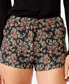 High-Waisted Floral Shorts | FOREVER21 - 2031557363