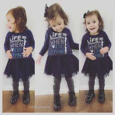 Moda infantil Inverno 2016 - lookinho fashion e confortável
