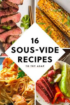 16 Sous-Vide Recipes to Try ASAP purewow food dinner trends meat recipe cooking sousvide sousviderecipes dinnerrecipes easydinners comfortfood 22306960639983351 Grilling Recipes, Meat Recipes, Gourmet Recipes, Dinner Recipes, Healthy Recipes, Lobster Recipes, Freezer Recipes, Budget Recipes, Apple Recipes