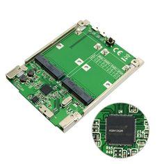 10 pieces/lot 2.5 inch Dual Mini PCI-E mSATA SSD RAID Adapter to USB 3.1 Hardware Raid Card Raid0 Raid1 or PM #Affiliate