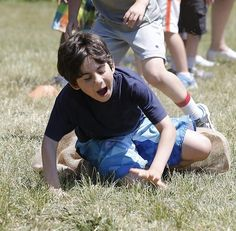 Students at the Joseph R. Dawe Jr. Elementary School got to take a day off from class to enjoy the late spring weather during the school's field day.