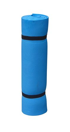 Rest 'N' Roll Ultralight Easy Store Single Camping Sleeping Pad/Yoga Mat with Carrying Straps - Blue * Details can be found by clicking on the image.