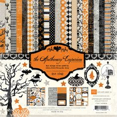 Echo Park - Apothecary Emporium Collection - Halloween - 12 x 12 Collection Kit at Scrapbook.com $13.99 - #scrapbooking #echopark #halloween