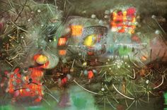 bringing-the-light-without-pain by Roberto Matta