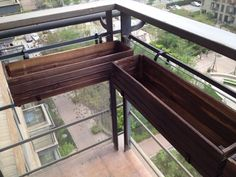 Hanging Balcony Planter Trough Holder For Use On 400 x 300
