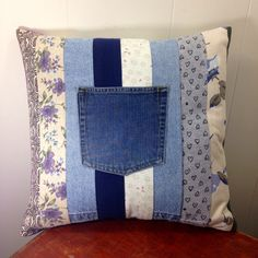 Memory Pillow, Custom Made for You by SavedbyKate on Etsy