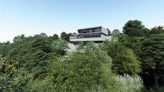 CASA PC   Condomínio Roland Garros em Florianópolis SC. #casa #arquitetura #casas #concreto #florianopolis #arquitetos #ideias #fachada #arquitectura #houses