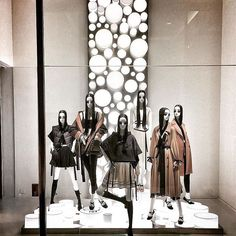 "ZARA, Corso Vittorio Emanuela, Milan, Italy, ""It's our time to shine"", Aloof mannequins by Bonaveri Italy, pinned by Ton van der Veer"