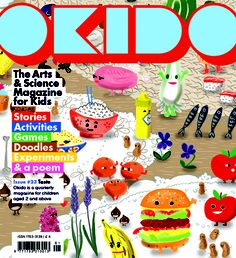Monthly subscription to the OKIDO Arts & Science magazine, board games, personalised prints and Messy soft toys are all available to buy now. Science Books, Science Art, Science For Kids, Science Magazine, Magazine Art, Magazine Covers, Personalised Prints, Magazines For Kids