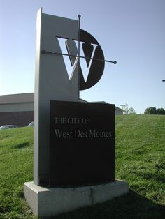 West Des Moines, IA : Monument Sign