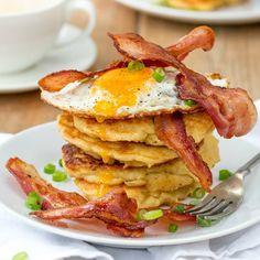 Try This Irish Boxty Breakfast Recipe for St Patricks Day via Brit + Co St Patricks Day Drinks, Shredded Potatoes, Irish Stew, Rainbow Food, Valentines Day Food, Peeling Potatoes, Irish Recipes, Recipe Of The Day, Breakfast Recipes