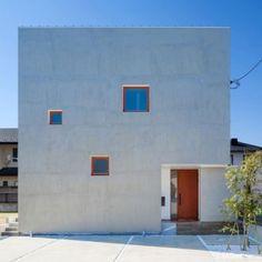 Kichi Architectural Design completes  cube-shaped House of Kubogaoka