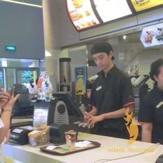 Here's your McF...….. I'm doing this one day at McDonalds! The looks of confusion as I walk away will be the best!
