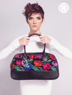 The incredible work of weaving from Chichicastenango is displayed in this Classy bag