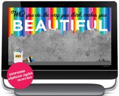 Stephanie Layton Free Desktop Wallpaper, Computer Wallpaper, Ipads, Phones, Designers, Make It Yourself, Telephone