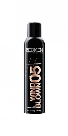 Redken's Wind Blown 05 Dry Finishing Spray will hold your 'do in place and give you major help in the texture department. // #Hair
