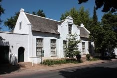 Cape Dutch house, Stellenbosch by Kleinz1, via Flickr