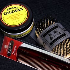 Don't forget about your #comb Is your comb too thick, too small, too big? Need one to help with your #sidepart or lifting your #pomp? www.pomade.com #mrpomade #pomade #tools #products #kent #rsstein #murrays #edgewax