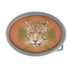 Jaguar Oval Belt Buckle