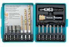 Makita T-00153 17-Piece Impact Driver Drill Accessory Set