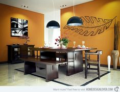 15 Admirable Dining Room Color Schemes
