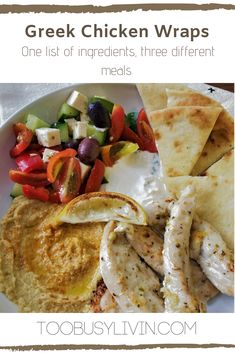 Whats For Lunch, Greek Chicken, Chicken Wraps, The Best, Meal Planning, Pizza, Favorite Recipes, Camping, Meals